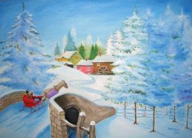 Zimowa sanna